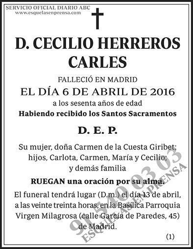 Cecilio Herreros Carles